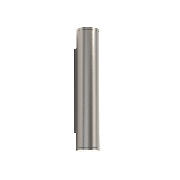 Astro Ava 400 Coastal Wall Light in Brushed Stainless Steel