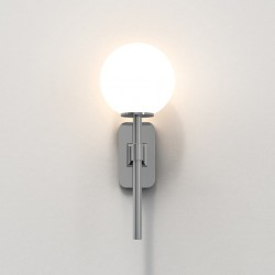 Astro Tacoma Single Bathroom wall light in Polished Chrome