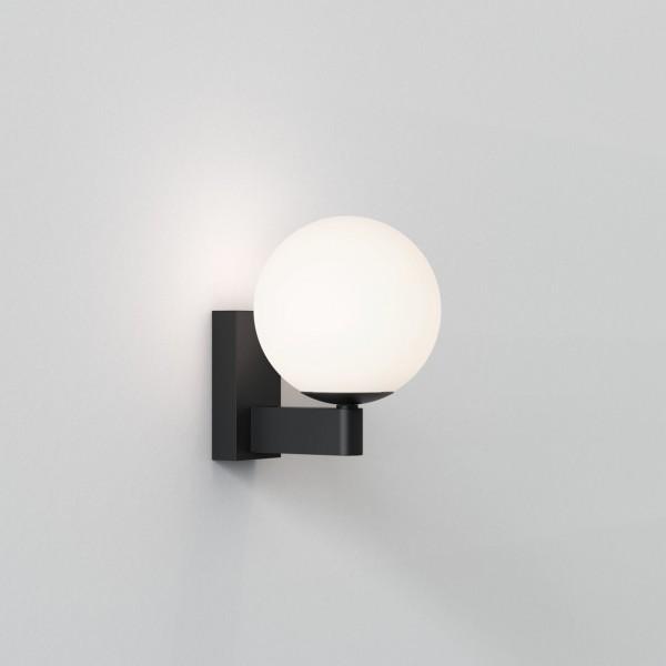Astro Sagara Bathroom Wall Light in Matt Black