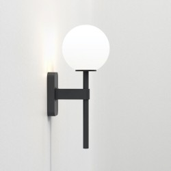 Astro Tacoma Single Bathroom Wall Light in Matt Black