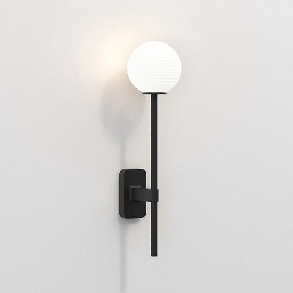 Astro Tacoma Single Grande Bathroom Wall Light in Matt Black