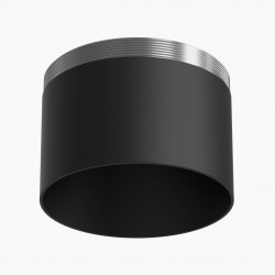 Astro Yuma Surface Downlight Bezel Bezel in Textured Black