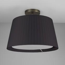 Astro Semi Flush Unit Indoor Ceiling Light in Bronze