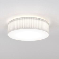 Astro Cambria 480 Indoor Ceiling Light in Pleated White Fabric