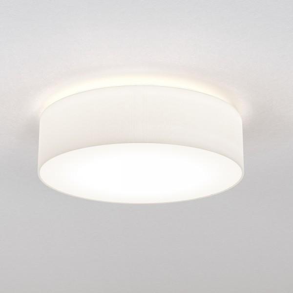 Astro Cambria 480 Indoor Ceiling Light in White Fabric