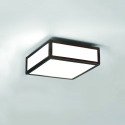 Astro Mashiko 200 Square Bathroom Ceiling Light in Bronze