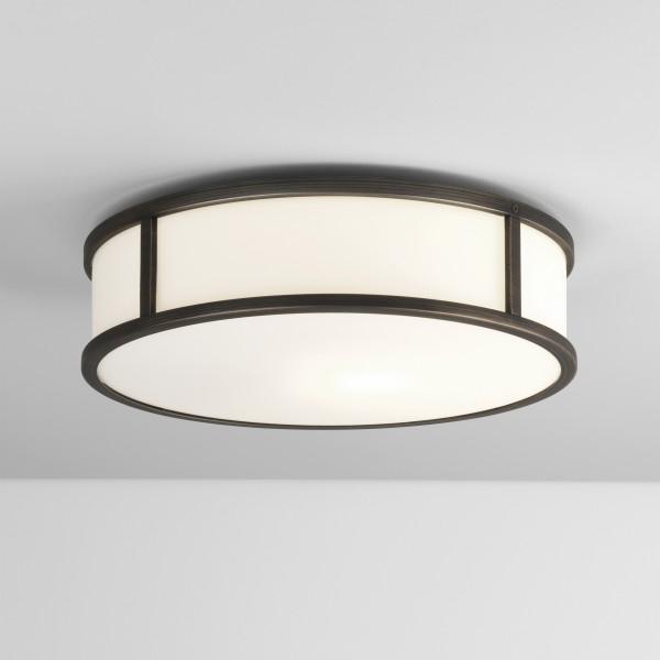 Astro Mashiko Round 300 Bathroom Ceiling Light in Bronze