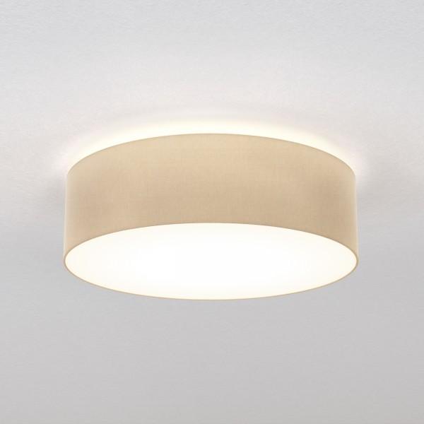 Astro Cambria 580 Indoor Ceiling Light in Putty Fabric