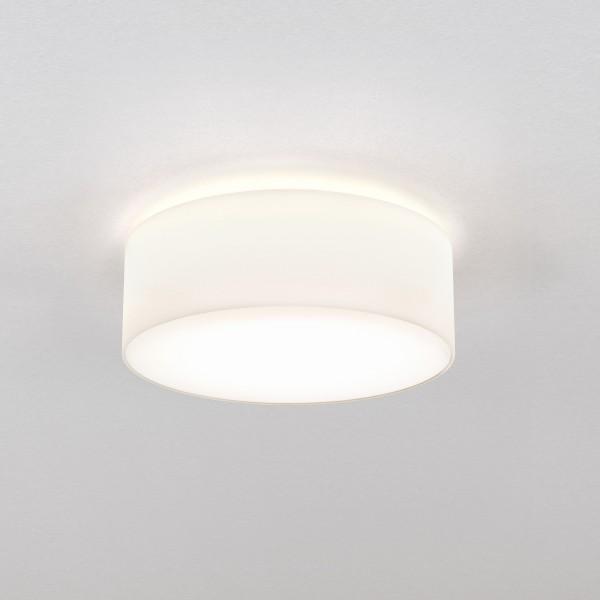 Astro Cambria 380 Indoor Ceiling Light in White Fabric