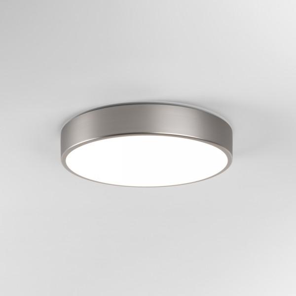 Astro Mallon LED Bathroom Ceiling Light in Matt Nickel