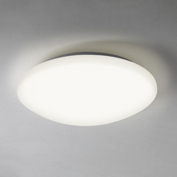 Astro Massa 300 LED Bathroom Ceiling Light in Matt White