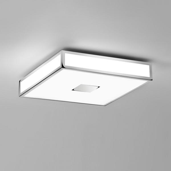 Astro Mashiko 400 Square LED Bathroom Ceiling Light in Polished Chrome