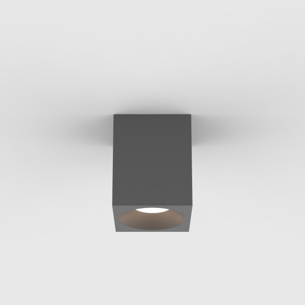 Astro Kos Square 100 LED Outdoor Downlight in Textured Grey