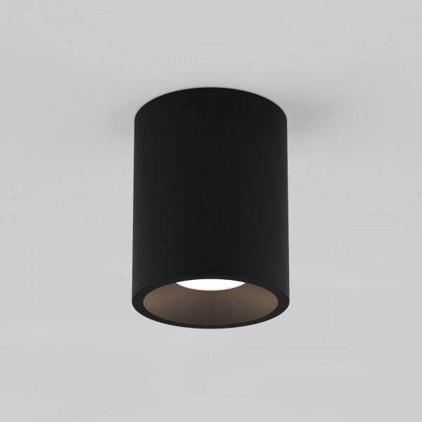 Astro Kos Round 100 LED Outdoor Downlight in Textured Black