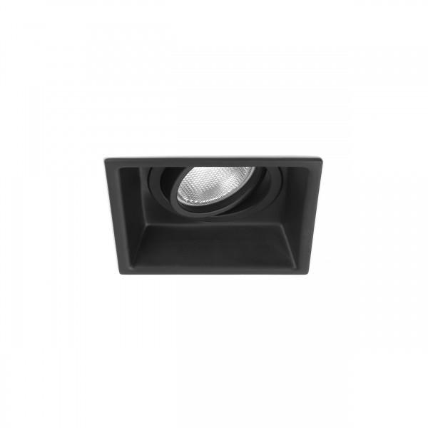Astro Minima Square Adjustable Indoor Downlight in Matt Black