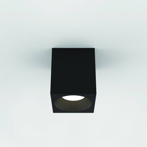 Astro 1326020 Kos Square 140 LED Outdoor Downlight in Textured Black