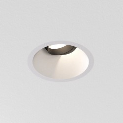 Astro Proform NT Round Adjustable Indoor Downlight in Textured White