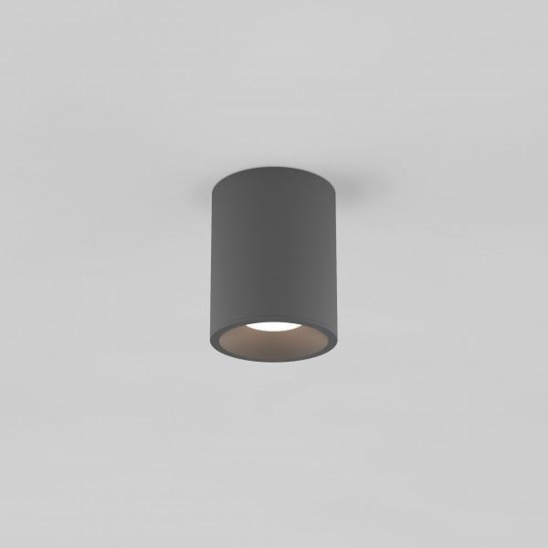 Astro Kos Round 100 LED Outdoor Downlight in Textured Grey