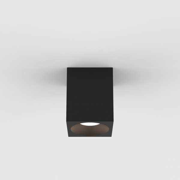 Astro Kos Square 100 LED Outdoor Downlight in Textured Black