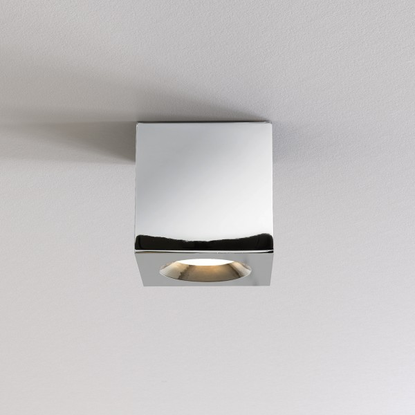 Astro Kos Square II Bathroom Downlight in Polished Chrome