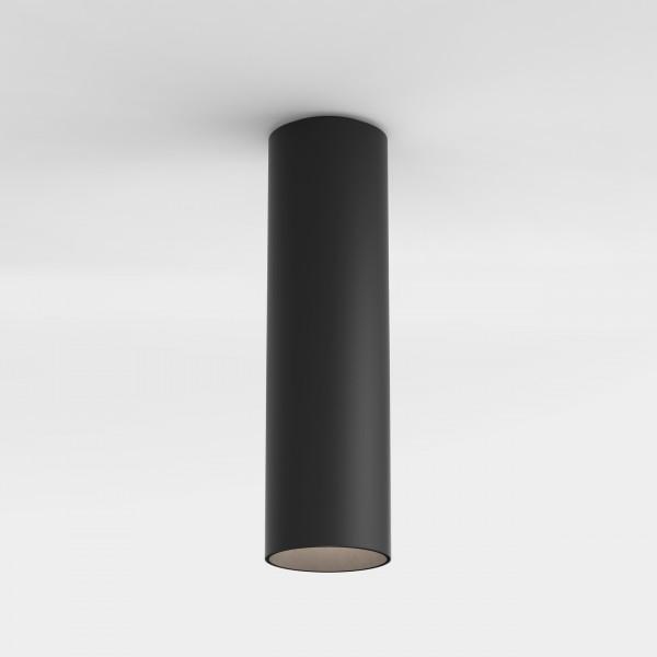 Astro Yuma Surface 250 Indoor Downlight in Textured Black