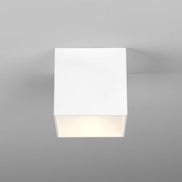 Astro Osca LED Square II Indoor Downlight in Matt White