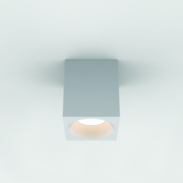 Astro Kos Square 140 LED Outdoor Downlight in Textured White