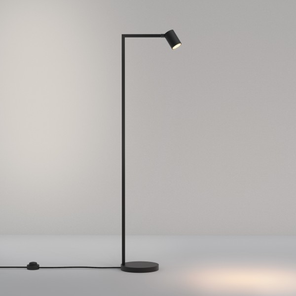 Astro Ascoli Floor Indoor Floor Lamp in Matt Black