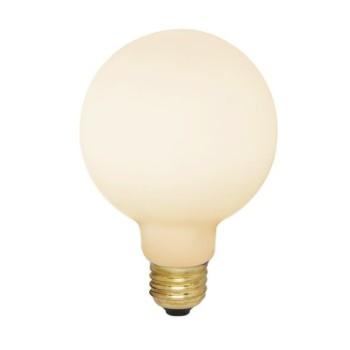 Astro Lamp E27 Medium Globe LED 6W 2700K Dimmable Bulb in Matt White