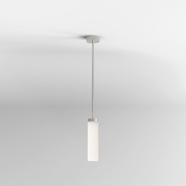Astro Kyoto LED Pendant Bathroom Pendant in Matt Nickel