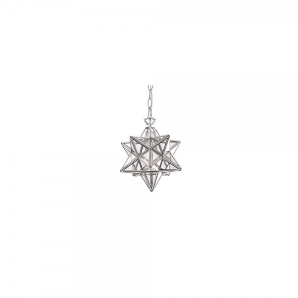 Ideal Lux 093079 STELLA SP1 BIG Hanging Star Pendant