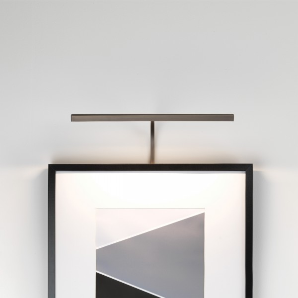 Astro Mondrian 400 Frame Mounted LED Indoor Picture Light in Bronze