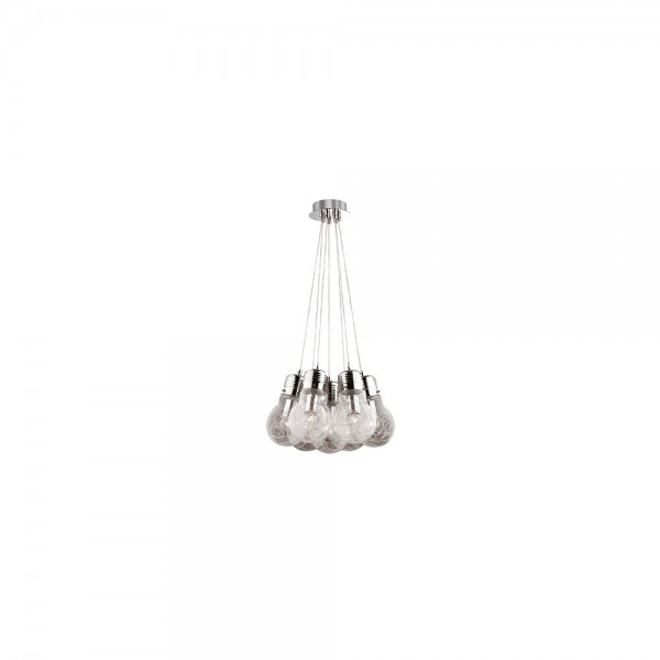 Ideal Lux Luce Max SP7 081779 Blown Glass Suspension Lamps