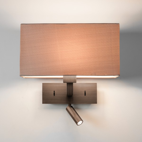 Astro Park Lane Reader LED Indoor Reading Light in Bronze