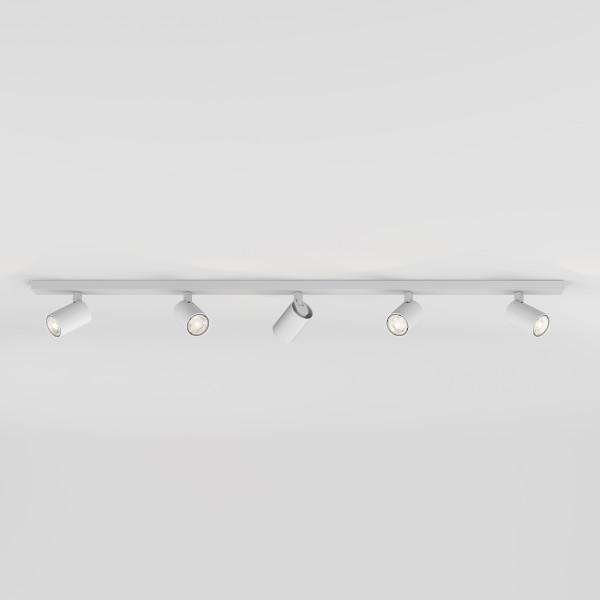 Astro Ascoli Five Bar Indoor Spotlight in Textured White