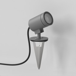 Astro Bayville Spike Spot 12V Outdoor Spotlight in Textured Grey