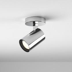 Astro Aqua Single Bathroom Spotlight in Polished Chrome