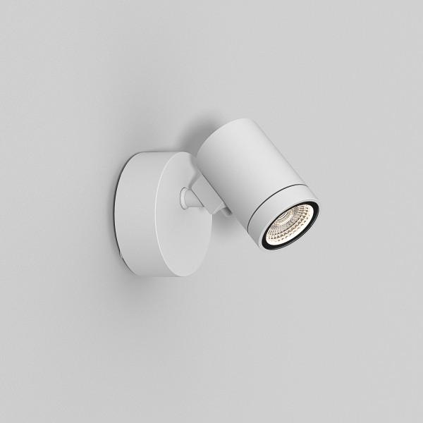 Astro Bayville Single Spot Outdoor Spotlight in Textured White