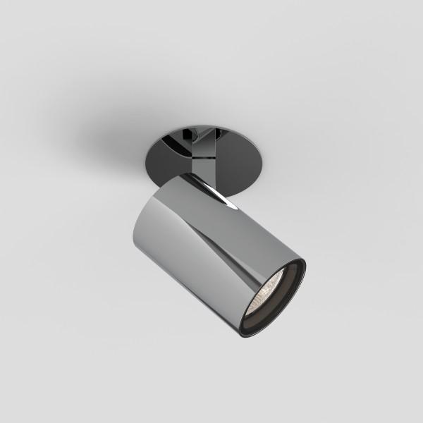 Astro Aqua Recessed Bathroom Spotlight in Polished Chrome