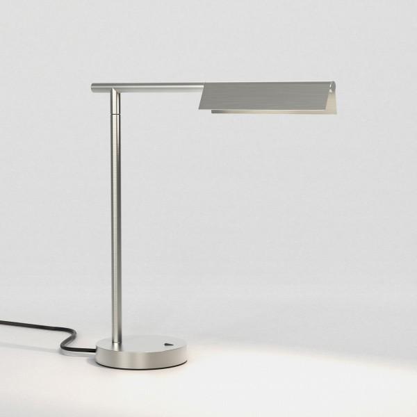 Astro Fold Table LED Indoor Table Lamp in Matt Nickel