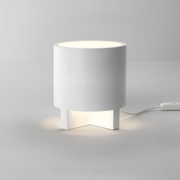 Astro Martello 180 Indoor Table Lamp in Plaster