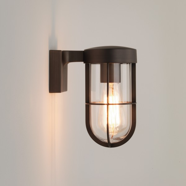 Astro Cabin Wall Outdoor Wall Light in Bronze
