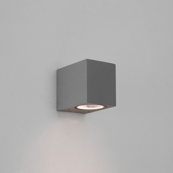 Astro Chios 80 Outdoor Wall Light in Textured Grey