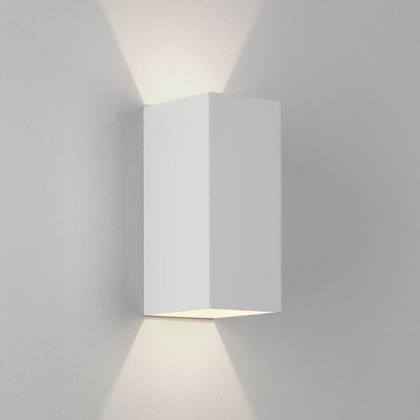 Astro Kinzo 210 LED Indoor Wall Light in Textured White