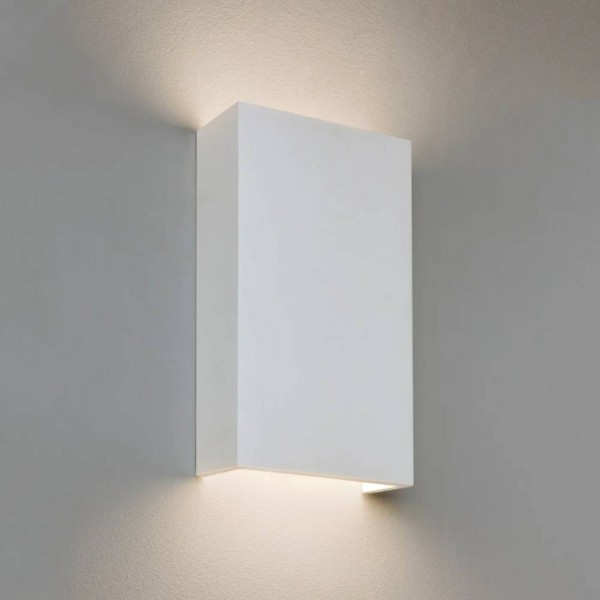 Astro Rio 190 LED Phase Dimmable Indoor Wall Light in Plaster