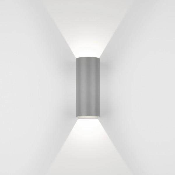 Astro Dunbar 255 LED Outdoor Wall Light in Textured Grey