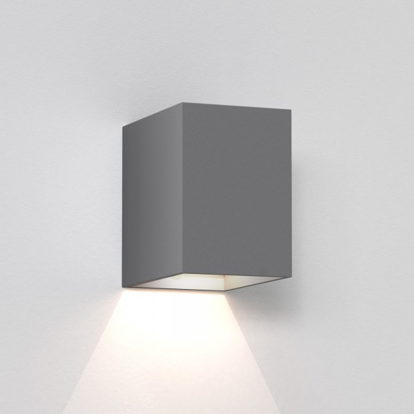 Astro Oslo 100 LED Outdoor Wall Light in Textured Grey