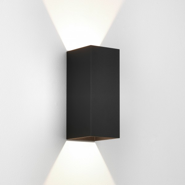 Astro Kinzo 260 LED Indoor Wall Light in Textured Black