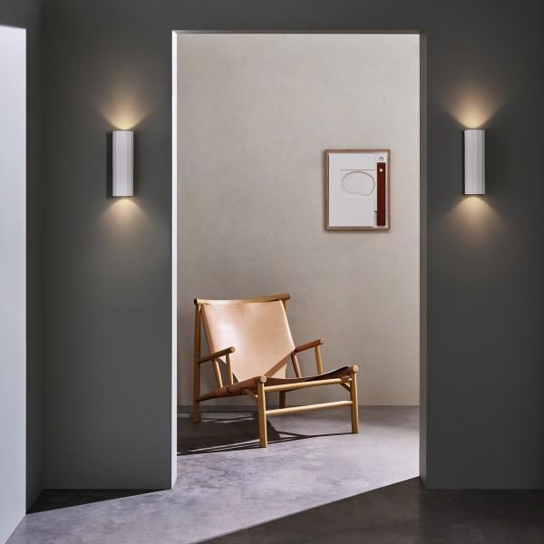 Astro Shadow 300 Indoor Wall Light in Plaster