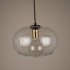 Culinary Concepts LX-6489 Arundel Clear Glass Shade Pendant Light